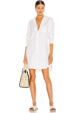 FRANK & EILEEN Mary Woven Button Up Dress in .
