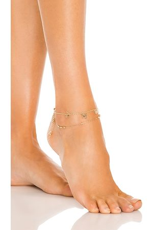 8 Other Reasons Butterfly Anklet in Metallic .