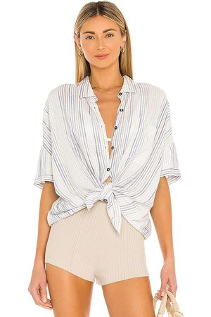 Splendid Women Tops - Pier Stripe Short Sleeve Top in .