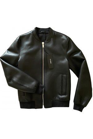 Les Hommes \N Leather Jacket for Men