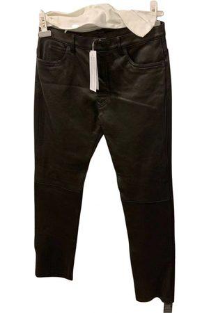 Maison Martin Margiela \N Leather Trousers for Men