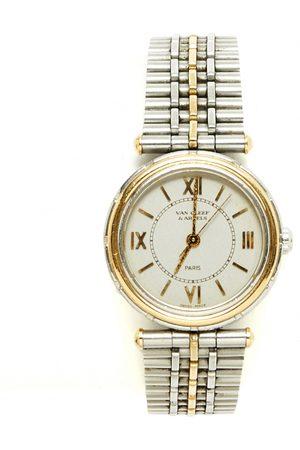 Van cleef VINTAGE Pierre Arpels gold and steel Watch for Women