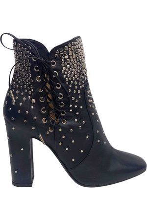 Salvatore Ferragamo \N Leather Ankle boots for Women
