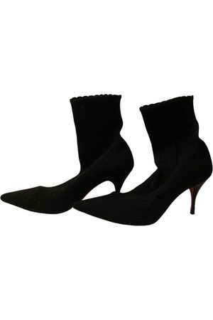 Christian Louboutin Women Ankle Boots - \N Cloth Ankle boots for Women