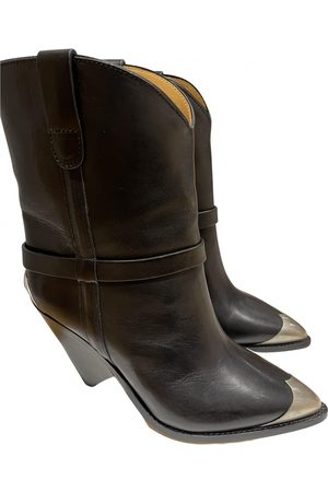 Isabel Marant Lamsy Leather Ankle boots for Women