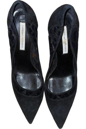 Diane von Furstenberg \N Velvet Heels for Women