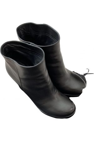 Jil Sander \N Leather Ankle boots for Women