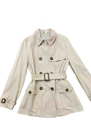 Max Mara Atelier Cotton Trench Coat for Women