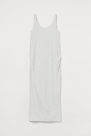 H&M Women Casual Dresses - MAMA Ribbed Jersey Dress