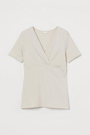 H&M MAMA Cotton Nursing Top