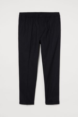 H&M Linen-blend Joggers