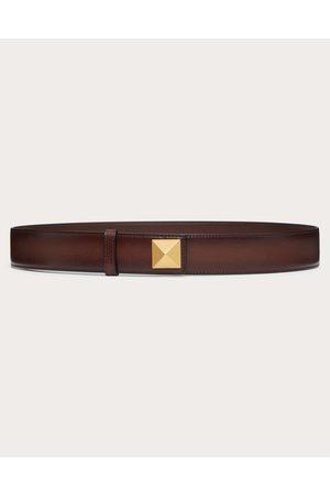VALENTINO GARAVANI Men Belts - Roman Stud Belt In Ombré Cowhide Man 100% Pelle Bovina - Bos Taurus 100
