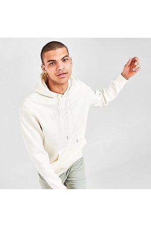 Nicce London Men Hoodies - Men's Mercury Hoodie in /Ecru Size Small Cotton/Polyester/Fleece