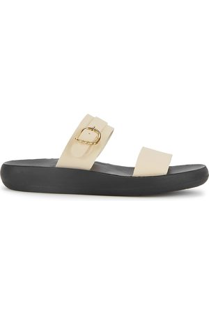 Ancient Greek Sandals Preveza Comfort off- leather sliders