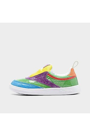 Reebok Kids' Toddler Candy Land Classic Club C Casual Shoes Size 4.0 Leather