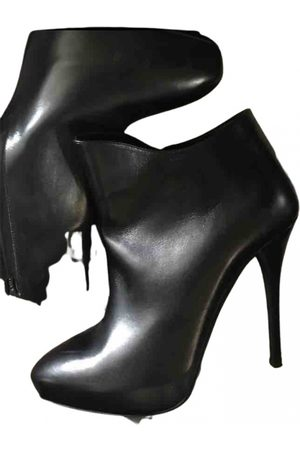 Ralph Lauren \N Leather Ankle boots for Women