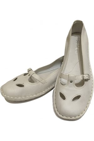 Verra Pelle Women Ballerinas - \N Leather Ballet flats for Women