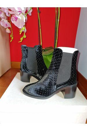 Jimmy Choo Women Ankle Boots - \N Velvet Ankle boots for Women