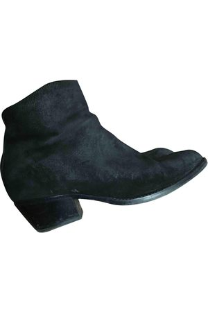 SARTORE \N Suede Ankle boots for Women