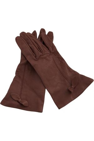 MULBERRY VINTAGE \N Leather Gloves for Women