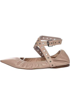 VALENTINO GARAVANI \N Leather Ballet flats for Women