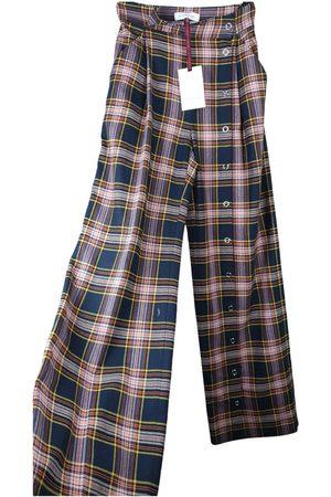 MIAHATAMI \N Wool Trousers for Women