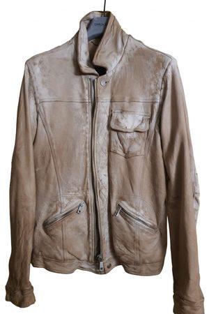 GIORGIO BRATO \N Leather Jacket for Men