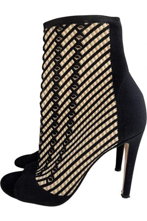 Gianvito Rossi \N Cloth Ankle boots for Women