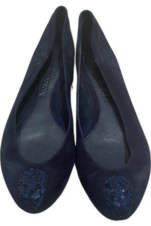 Alexander McQueen \N Suede Ballet flats for Women