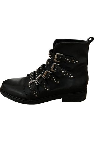 Maje \N Leather Ankle boots for Women