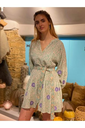 Nimo with Love Tivoli Dress Mexican Flower Dots