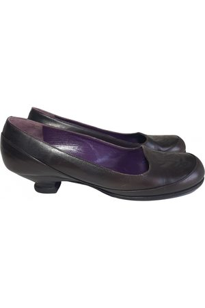 Sonia by Sonia Rykiel \N Leather Ballet flats for Women