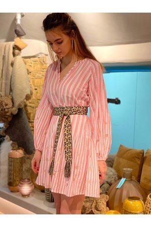 Nimo with Love Tivoli Dress Rosa Stripe Heart
