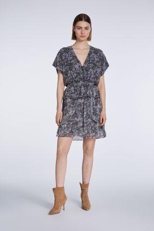 SET Floral V-Neck Dress