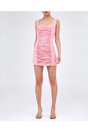 C/meo Collective Hibiscus Covert Mini Dress