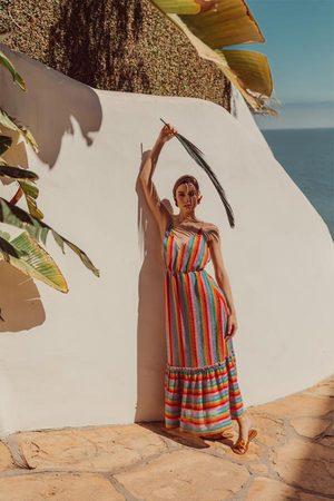 sundress Cirka Long Dress Rainbow Italian Knit