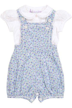 Rachel Riley Baby floral cotton bodysuit and blouse set