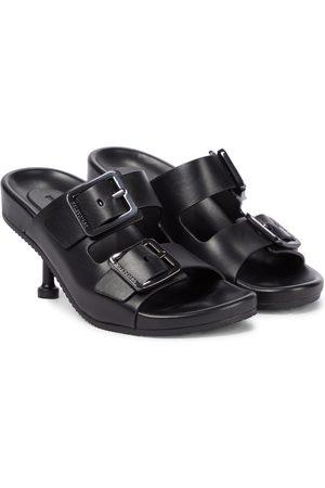 Balenciaga Mallorca leather sandals
