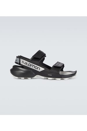 and wander X Salomon CROSS sandals