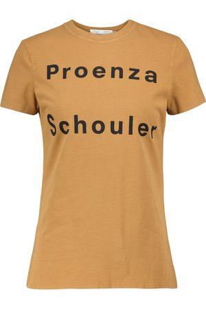 Proenza Schouler White Label stretch-cotton T-shirt