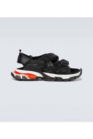 Balenciaga Track Clear Sole strapped sandals