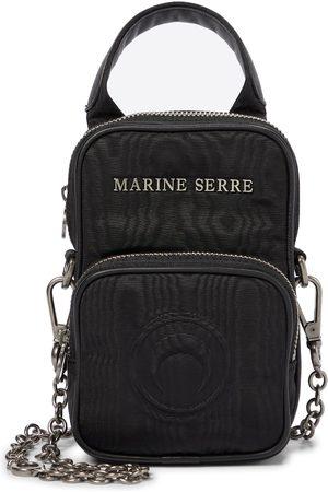 Marine Serre Mini moiré belt bag