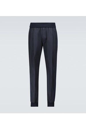 Alexander McQueen Elasticated cotton pants