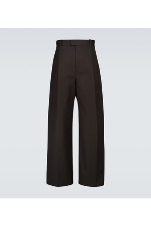 Bottega Veneta Wide-leg cotton pants
