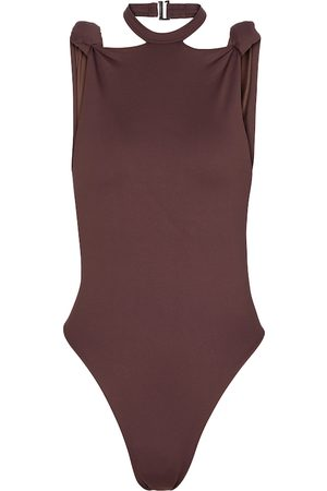 The Attico Halterneck swimsuit