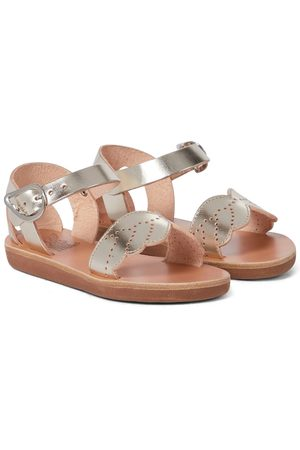 Ancient Greek Sandals Little Andromeda leather sandals