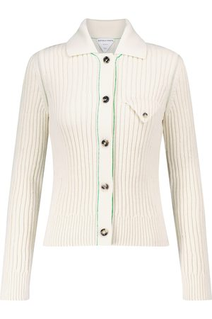Bottega Veneta Ribbed-knit wool cardigan