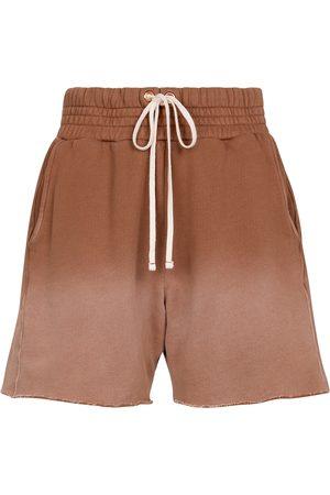 Les Tien Cotton jersey shorts