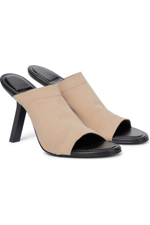 Balenciaga Stretch-jersey sandals