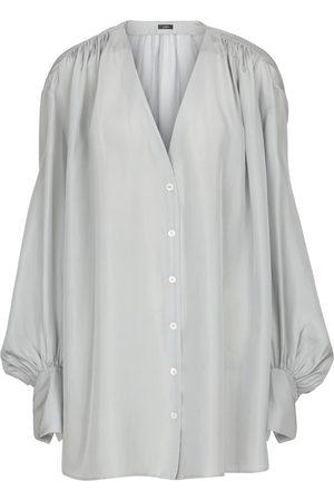 Joseph Bary silk habotai blouse